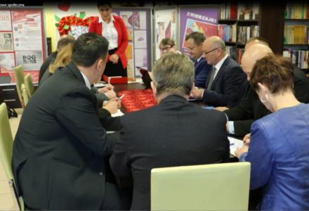 Posiedzenie Komisji Oświatowo – Społecznej [ video ]