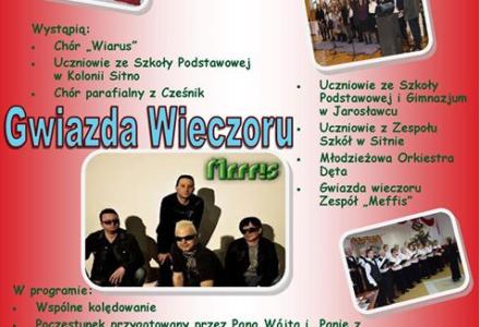 Gmina Sitno: spotkanie wigilijne w Kolonii Sitno