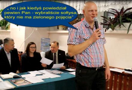 Wybory Sołtysa i Rady Sołeckiej w Borowinie Sitanieckiej oraz ocena poprzedniej kadencji jako wielki sukces [ video ]