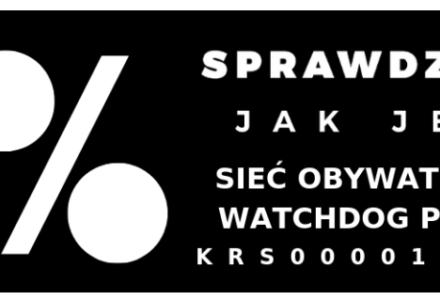 Apel: Wesprzyj Watchdoga 1%! KRS 0000181348