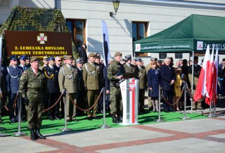 Terytorialsi złożyli przysięgę w Szczebrzeszynie [ VIDEO ]
