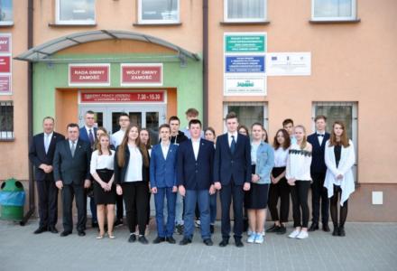 I Sesja Młodzieżowej Rady Gminy Zamość II kadencji