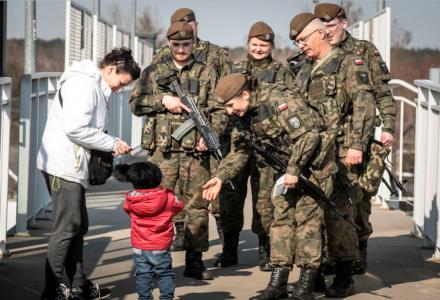 Terytorialsi ćwiczyli w Łukowie
