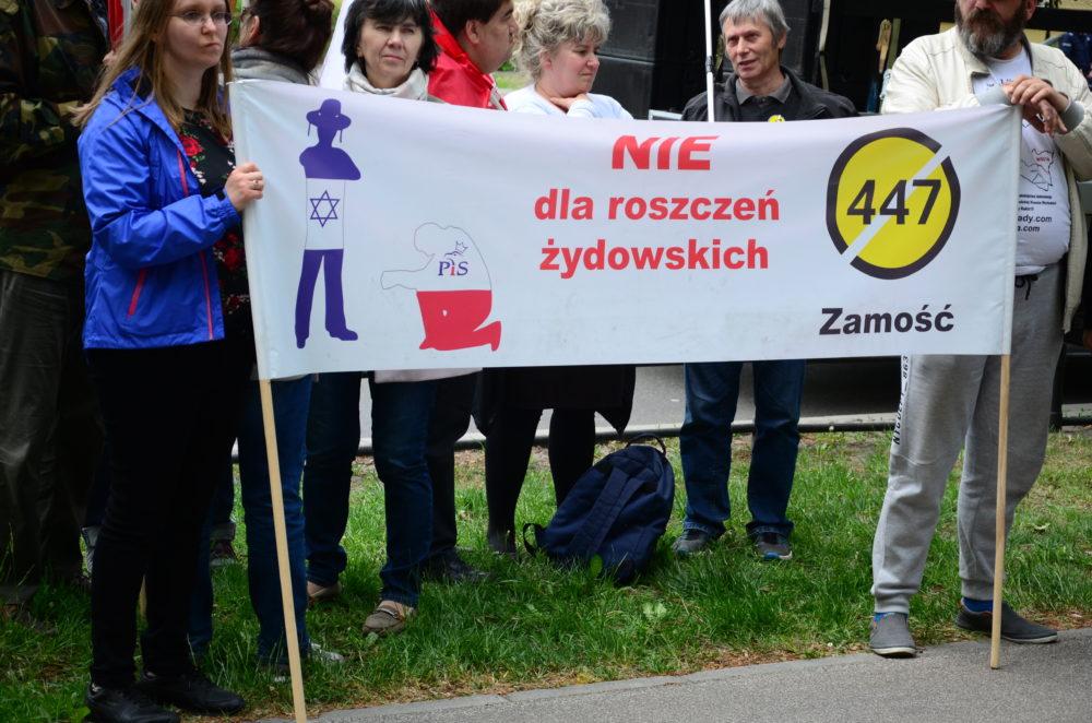 Biało Czerwona reprezentacja Lubelszczyzny na Marszu#STOP447 w Warszawie