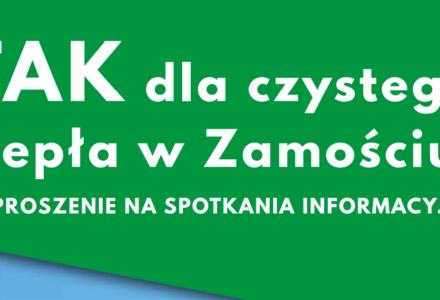 Dyżury informacyjne dla  mieszkańców Zamościa i Gminy Zamość na temat planów rozbudowy ciepłowni