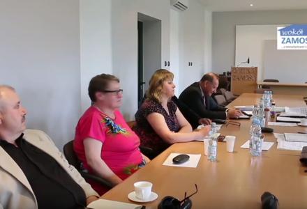 Posiedzenie Komisji Rewizyjnej Rady Gminy Zamość [ FILM ]