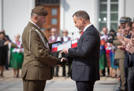 Prezydent RP Andrzej Duda wyróżnił 2 Lubelską Brygadę Obrony Terytorialnej