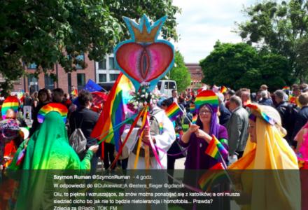 """""""LGBT zaczyna kojarzyć się z chęcią obrażenia uczuć katolików"""""""