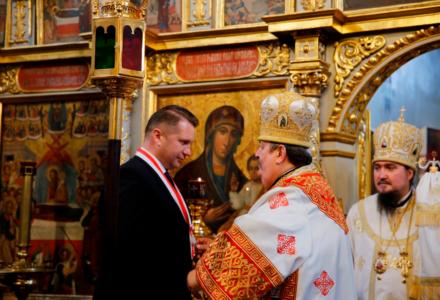 Wojewoda z Orderem Świętej Równej Apostołom Marii Magdaleny