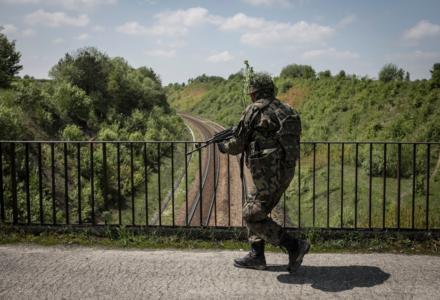 Zamojscy Terytorialsi ćwiczyli na zaporze w Nieliszu