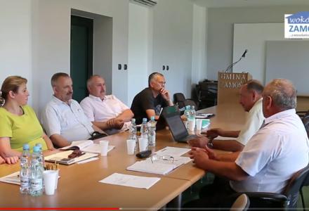 Posiedzenie Komisji Rewizyjnej Rady Gminy Zamość – pytania radnego Konrada Kitki w sprawie MZK [ VIDEO ]