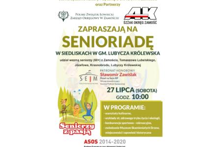 Pierwsza Senioriada w Siedliskach gmina Lubycza Królewska