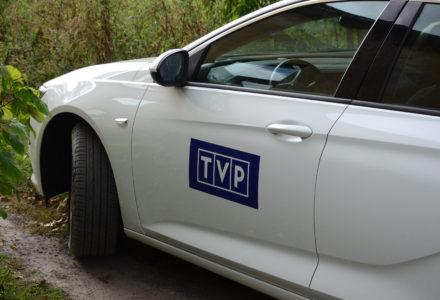 Dziennikarze Telewizji Polskiej nagrywali reportaż na terenie gminy Zamość