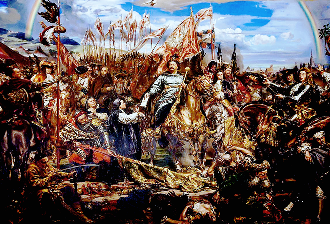 """Uroczyste odsłonięcie obrazu ,,Bitwa pod Wiedniem"""""""