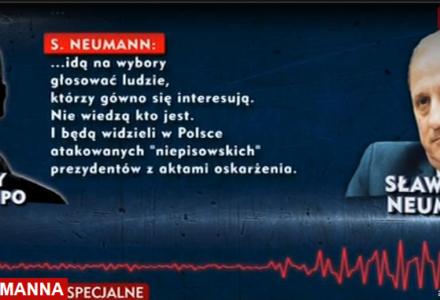 """Prawdziwe oblicze Sławomira Neumanna. Taśmy szefa klubu PO: """"Na wybory idą głosować ludzie, którzy g…o się interesują"""""""