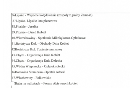 Fundusz Sołecki: burzliwy przebieg zebrania wiejskiego w Borowinie Sitanieckiej. Dlaczego wójt Ryszard Gliwiński unikał odpowiedzi na pytania?