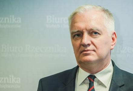 Jarosław Gowin stoi murem za zwolennikami LGBT