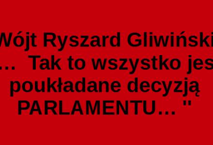 Mieszkańcy pytają o podwyżki opłat za śmieci a Wójt Ryszard Gliwiński odpowiada