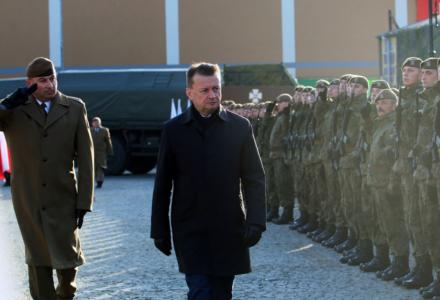Podwójna uroczystość lubelskich Terytorialsów w Hrubieszowie