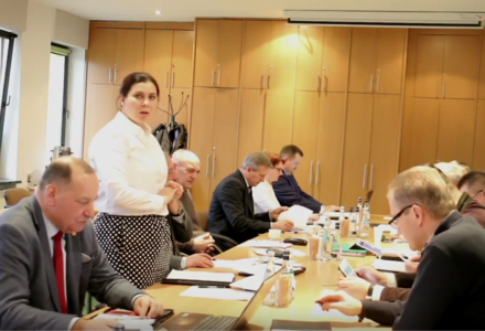 Wspólne obrady Komisji Oświatowo Społecznej oraz Komisji Rozwoju Gminy i Budżetu Rady Gminy Zamość [ VIDEO ]