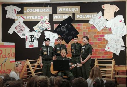 Apel z okazji Narodowego Dnia Pamięci Żołnierzy Wyklętych w Borowinie Sitanieckiej