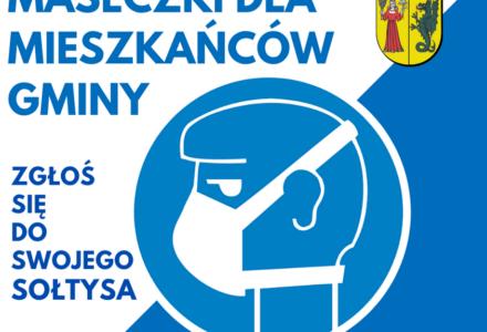 Maseczki dla mieszkańców gminy Lesznowola