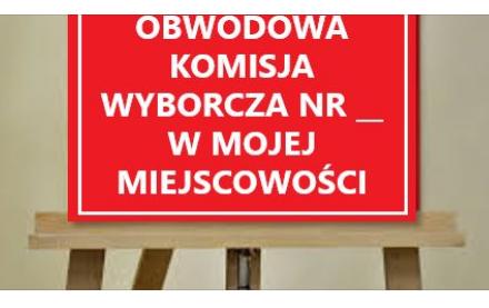 Składy Obwodowych Komisji Wyborczych w Gminie Zamość