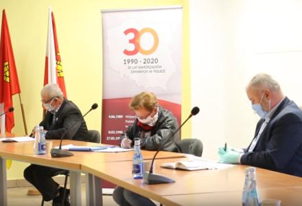 Posiedzenie Komisji Skarg, Wniosków i Petycji Rady Gminy Zamość – rozpatrzenie skargi [ VIDEO ]