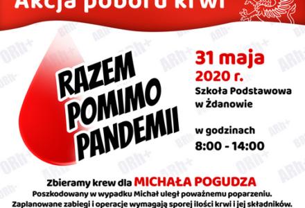Akcja poboru krwi – Razem pomimo pandemii.