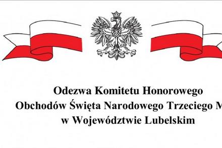 Odezwa Komitetu Honorowego Obchodów Święta Narodowego Trzeciego Maja