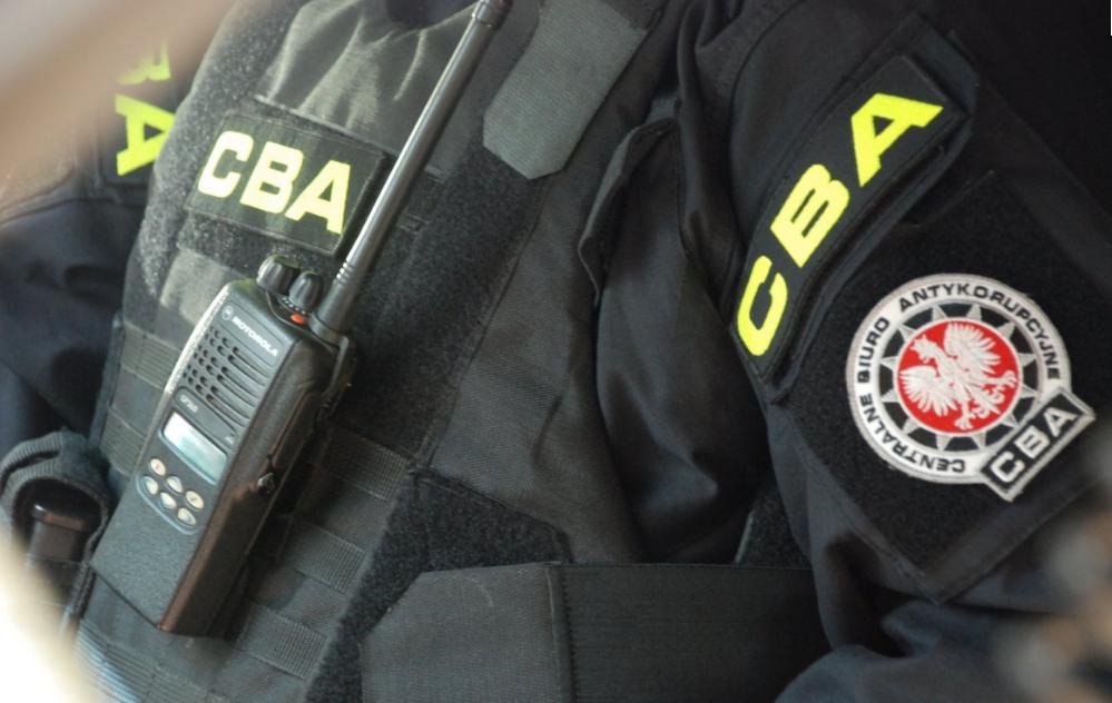 Akcja CBA na Zamojszczyźnie. Cztery osoby zatrzymane, w tym dwaj urzędnicy