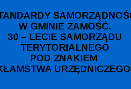 Wojewódzki Sąd Administracyjny w Lublinie wydał wyrok w sprawie jawności wynagrodzenia radnego Rady Gminy Zamość