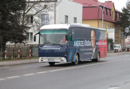 Andrzej Duda w Zamościu zakończy kampanię wyborczą