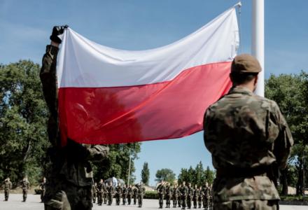 Przysięga Terytorialsów w Lublinie