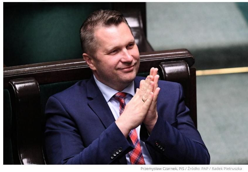 Czarnek nowym ministrem sprawiedliwości? Źródła w PiS: Decyzja zapadła