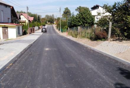 Budowa ulicy Cichej we Frampolu z Funduszu Dróg Samorządowych