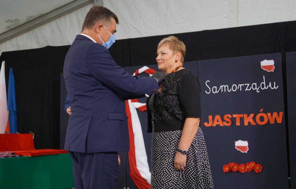 Jubileusz 30-lecia samorządu gminy Jastków. Wojewoda wręczył odznaczenia