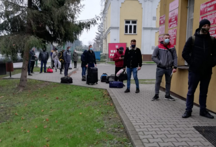 """""""Szesnastka"""" w reżimie sanitarnym"""