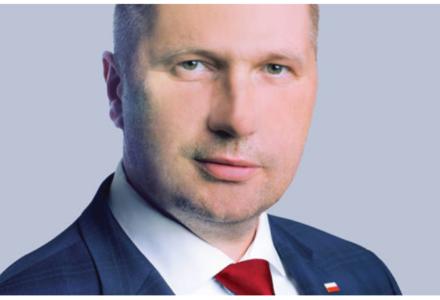 Minister P. Czarnek złożył życzenia świąteczne dyrektorom szkół i nauczycielom