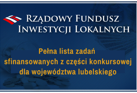 """""""Plastikowy pieniądz"""" NIE dla Gminy Zamość w ramach Rządowego Funduszu Inwestycji Lokalnych"""