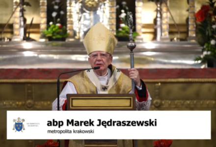 Abp. Marek Jędraszewski w czasie pasterki na Wawelu [ V I D E O ]