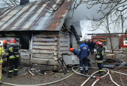 Tragiczny pożar w Kalinowicach