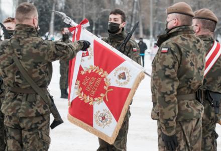 Pierwsza przysięga lubelskich Terytorialsów w 2021 r.