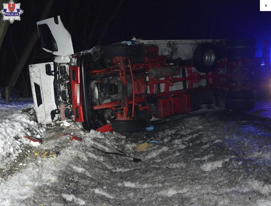 Groźny wypadek w miejscowości Sitaniec Wolica