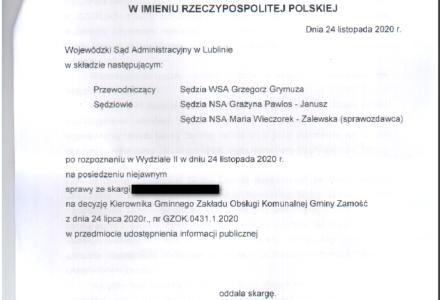 WSA oddalił skargę w sprawie wynagrodzenia radnego Piotra Najdy. Błędne pouczenie nie wpływa na ważność decyzji według WSA
