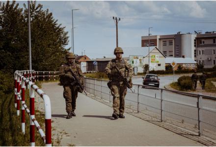 Lubelscy Terytorialsi w ćwiczeniu DRAGON-21