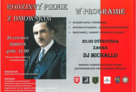 Rodzinny Piknik z Dmowskim w Szczebrzeszynie