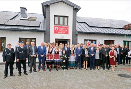 Gmina Radecznica. W Dzielcach oddano do użytkowania przebudowaną świetlicę wiejską