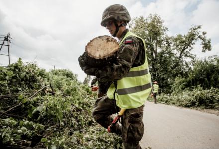 Lubelscy Terytorialsi wezwani na pomoc do gminy Wilków