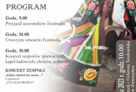 Zaproszenie na XXII Zamojskie Dni Folkloru